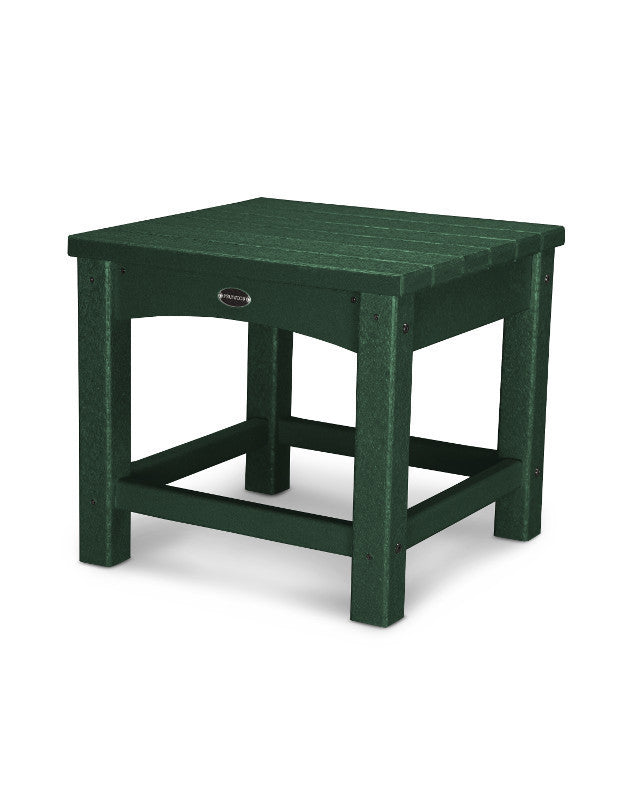 "CLT1818GR Club 18"" Side Table in Green"
