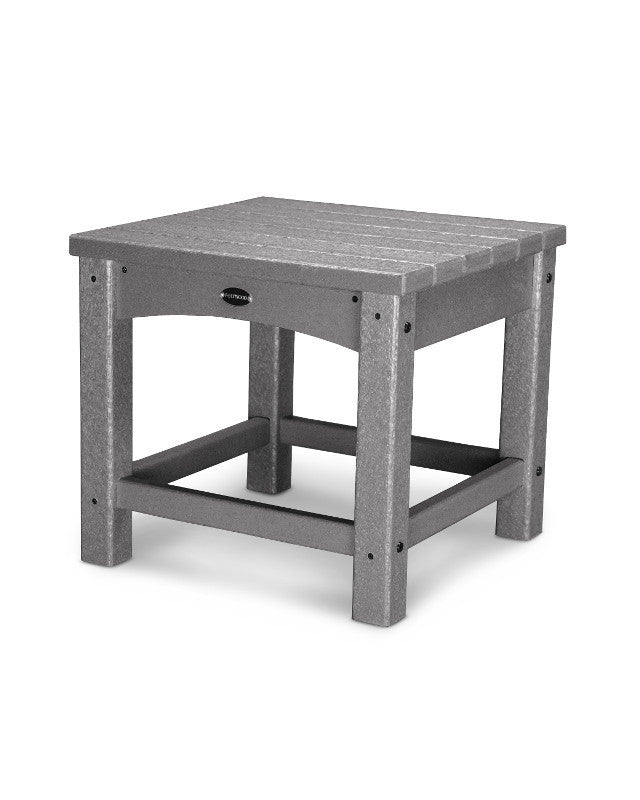 "CLT1818GY Club 18"" Side Table in Slate Grey"