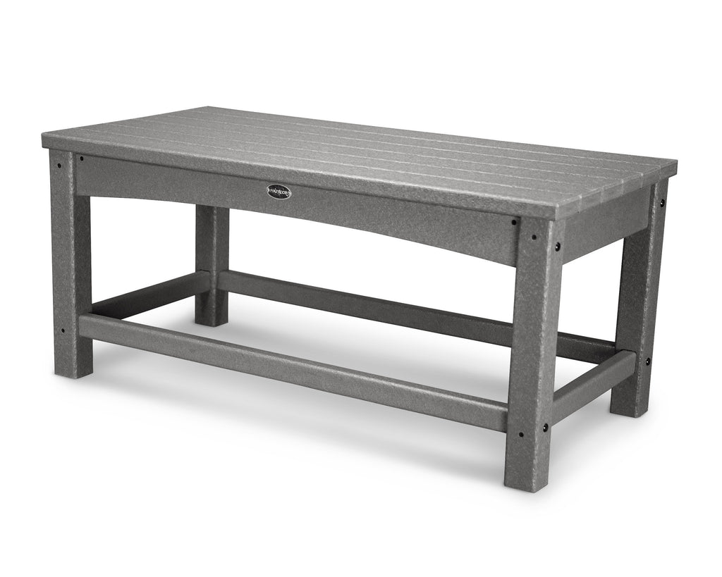 CLT1836GY Club Coffee Table in Slate Grey