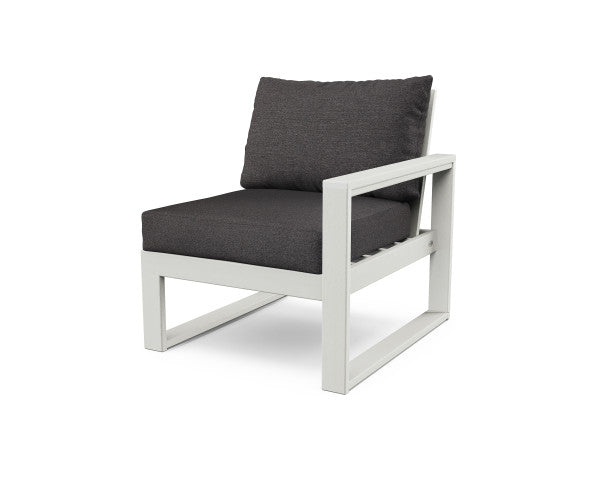 Edge Modular Right Chair - Vintage Finish