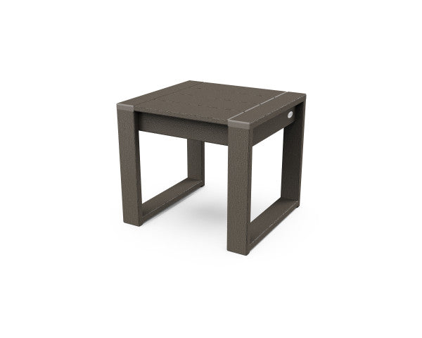 Edge End Table - Vintage Finish