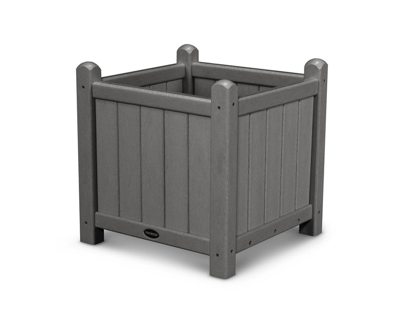 GP16GY Traditional 16in Garden Planter in Slate Grey