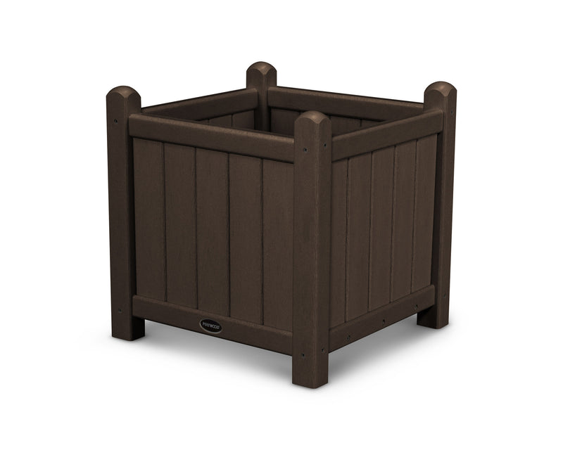 GP16MA Traditional 16in Garden Planter in Mahogany