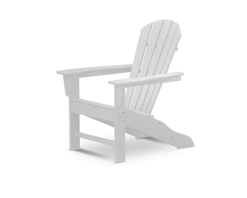 HNA10-WH Palm Coast Adirondack Chair in White
