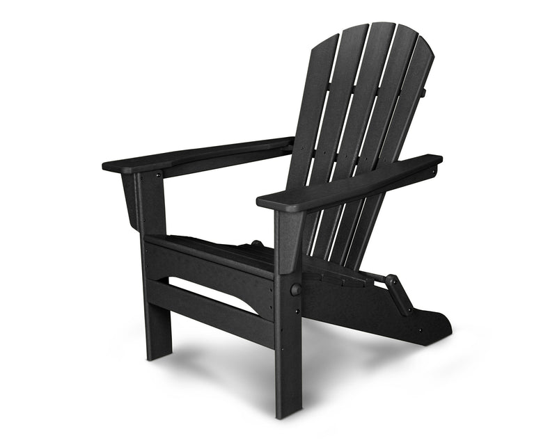 HNA110BL Palm Coast Folding Adirondack in Black