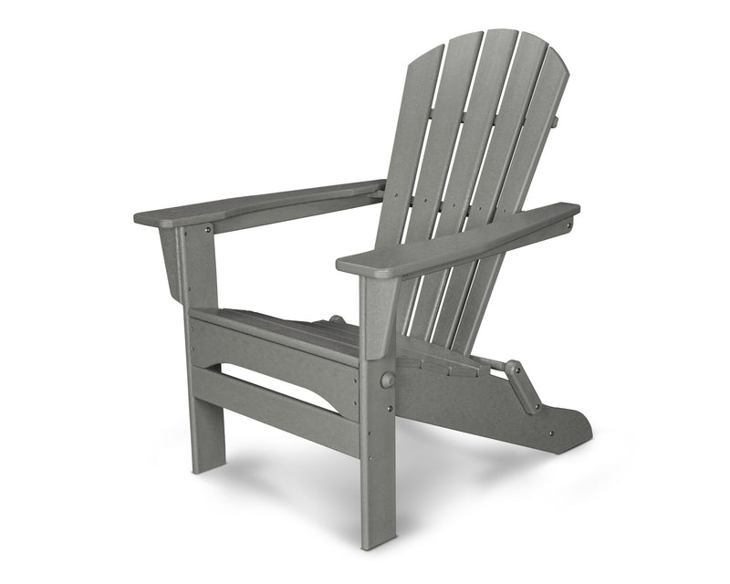 HNA110GY Palm Coast Folding Adirondack in Slate Grey