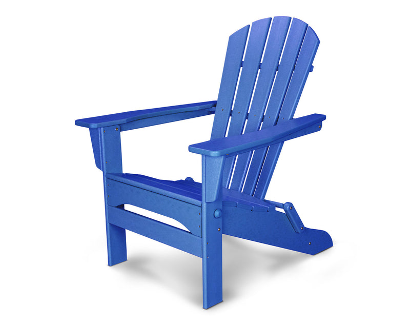 HNA110PB Palm Coast Folding Adirondack in Pacific Blue