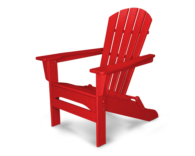 HNA110SR Palm Coast Folding Adirondack in Sunset Red