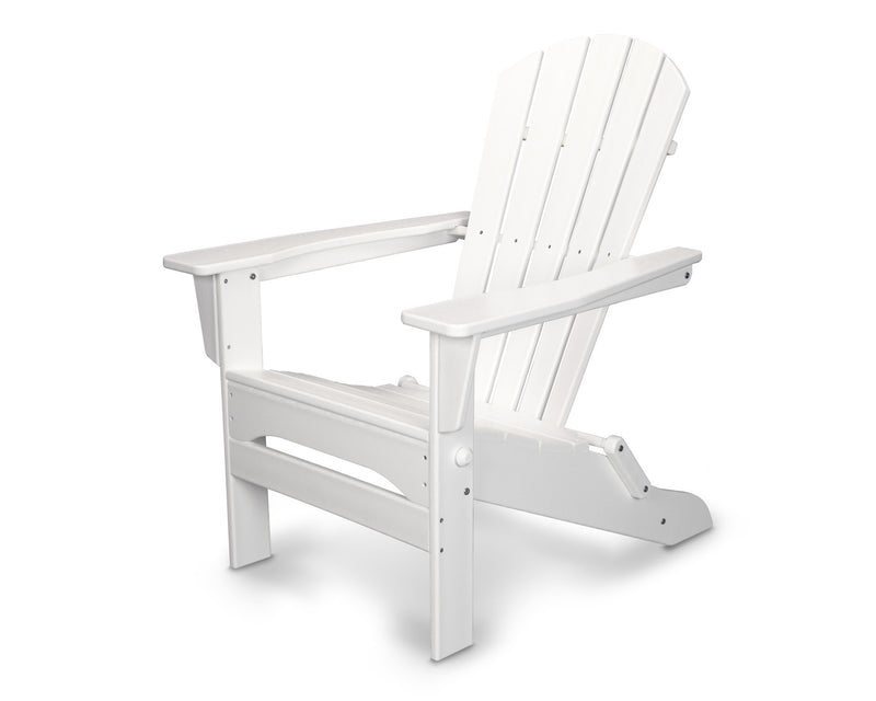 HNA110WH Palm Coast Folding Adirondack in White