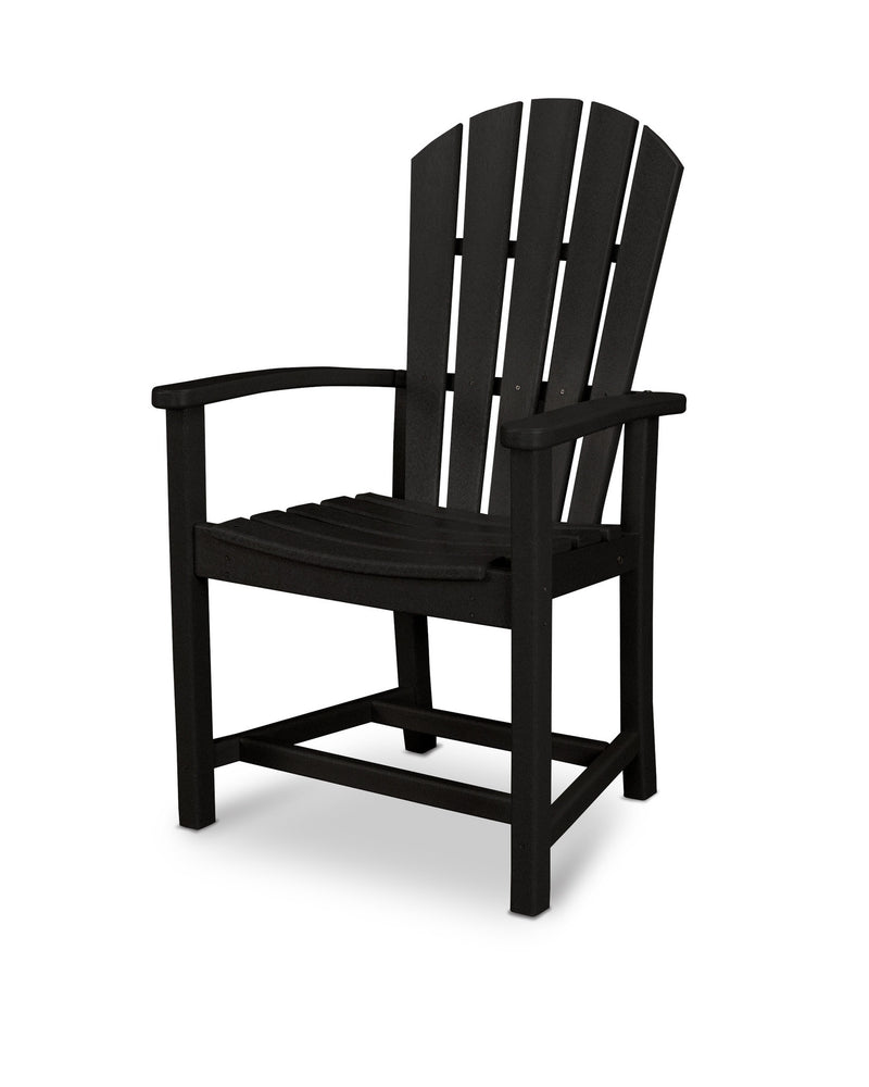 HND200BL Palm Coast Dining Chair in Black