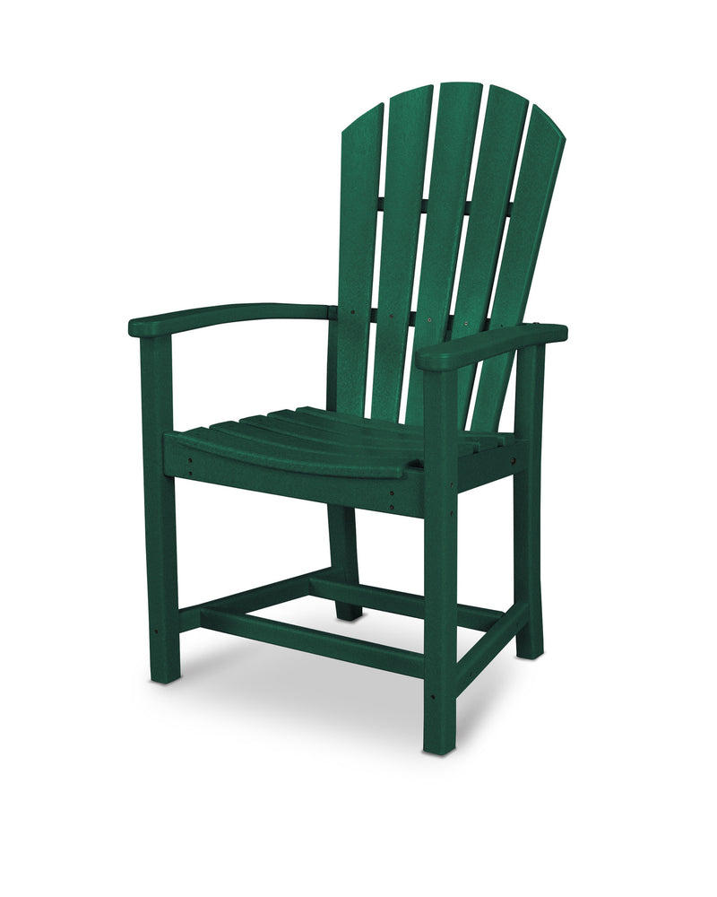 HND200GR Palm Coast Dining Chair in Green