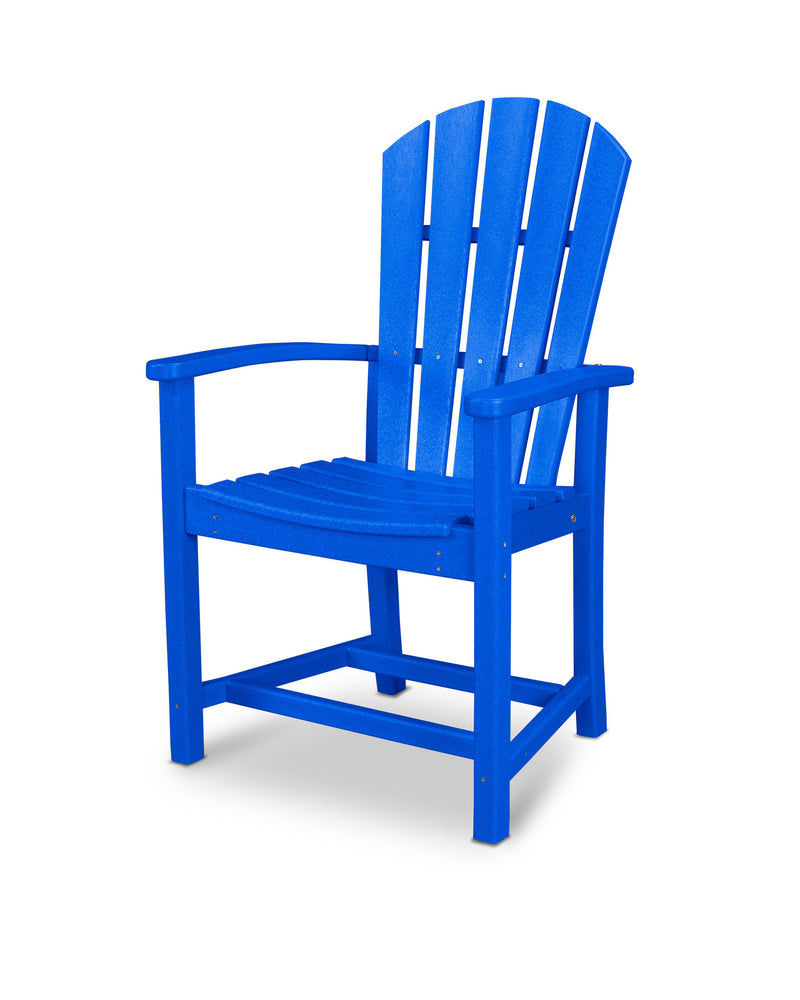 HND200PB Palm Coast Dining Chair in Pacific Blue