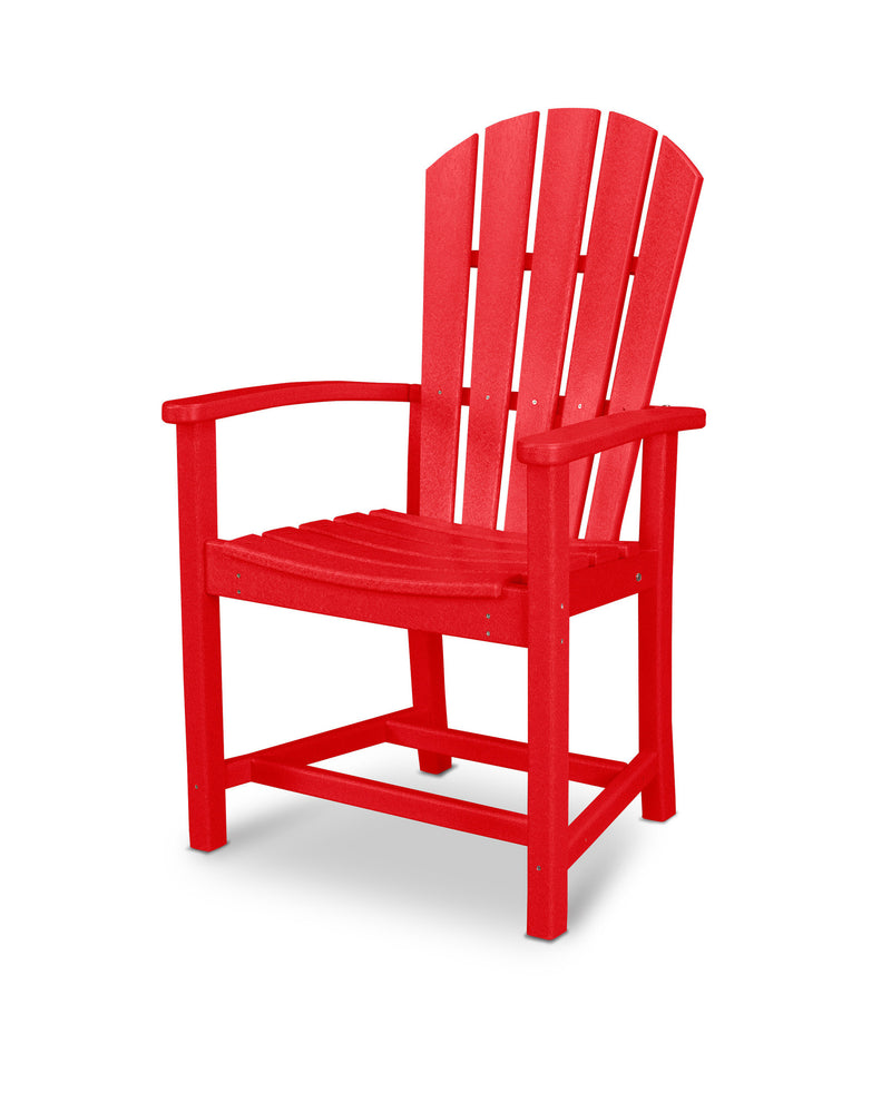 HND200SR Palm Coast Dining Chair in Sunset Red
