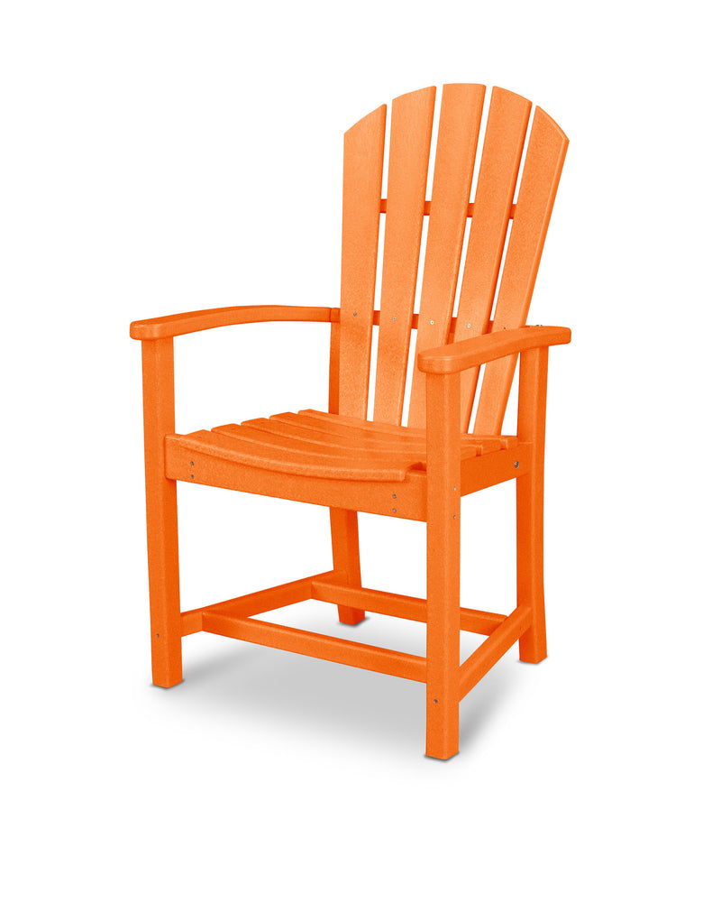 HND200TA Palm Coast Dining Chair in Tangerine