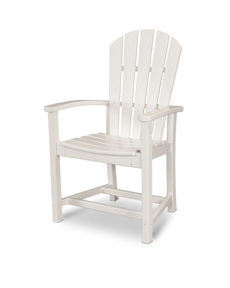 HND200WH Palm Coast Dining Chair in White