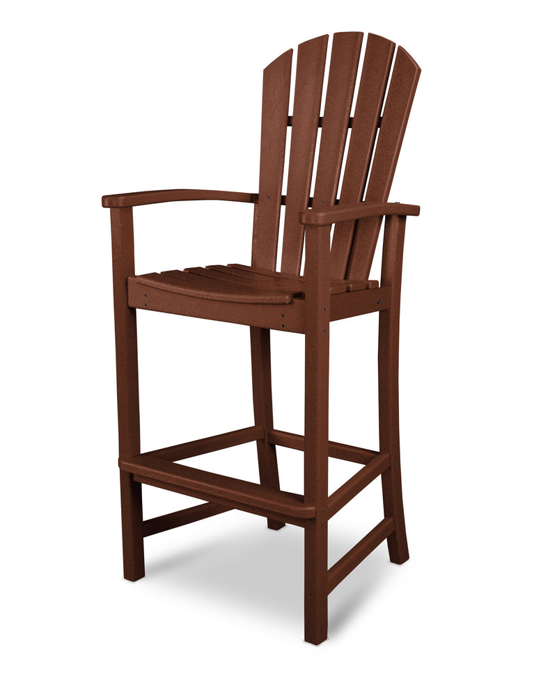 HND202MA Palm Coast Bar Chair in Mahogany