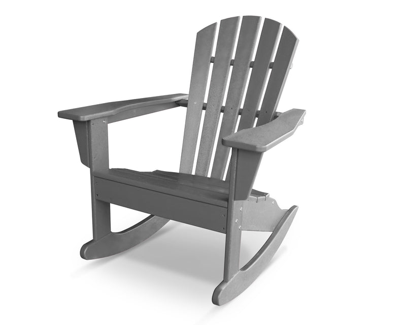HNR10GY Palm Coast Adirondack Rocker in Slate Grey