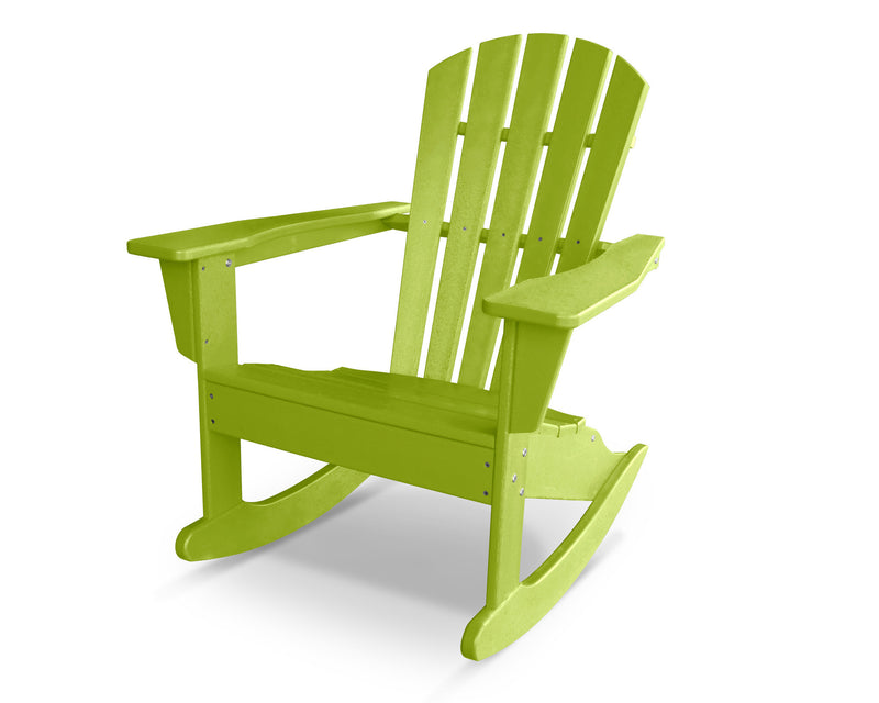 HNR10LI Palm Coast Adirondack Rocker in Lime