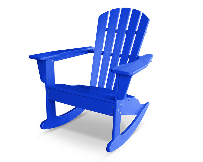HNR10PB Palm Coast Adirondack Rocker in Pacific Blue