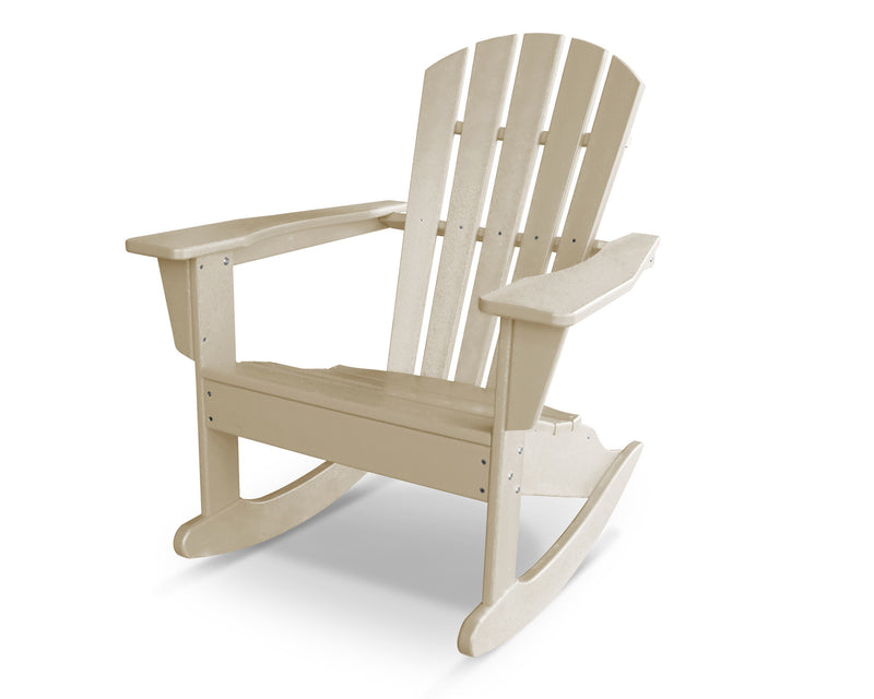HNR10SA Palm Coast Adirondack Rocker in Sand