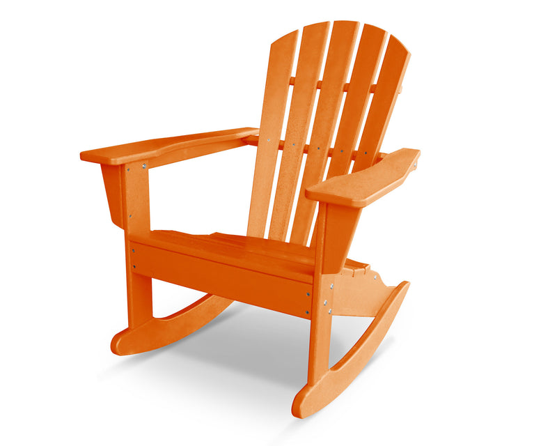 HNR10TA Palm Coast Adirondack Rocker in Tangerine
