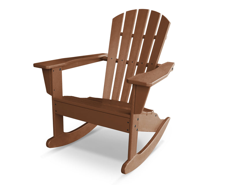 HNR10TE Palm Coast Adirondack Rocker in Teak