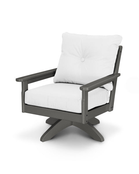 Vineyard Deep Seating Swivel Chair