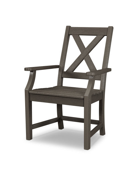 Braxton Dining Arm Chair - Vintage Finish