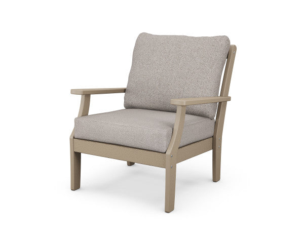 Braxton Deep Seating Chair - Vintage Finish