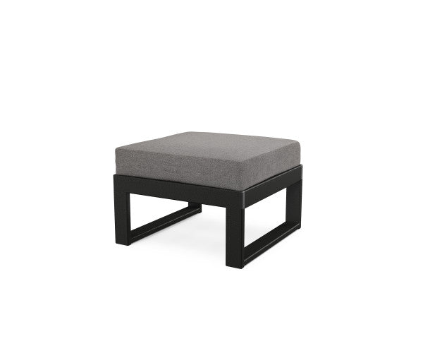 Edge Modular Ottoman - Classic Finish