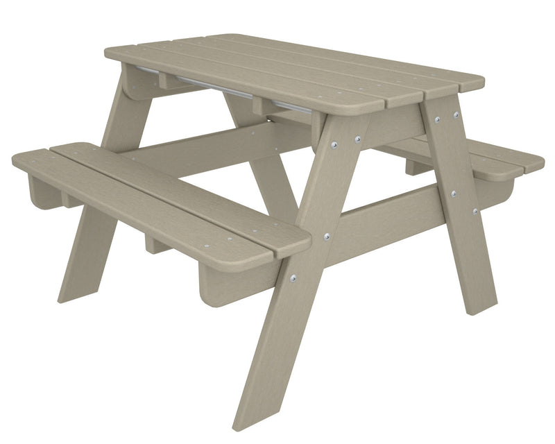 KT130SA Kids Picnic Table in Sand