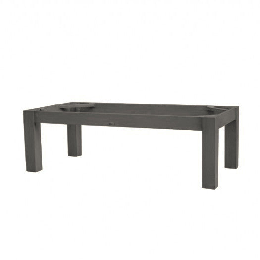 "Montreal Coffee Table in Ash Grey 23""x47"" Rectangular Base ASG"