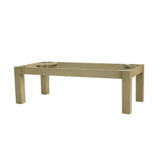 "Montreal Coffee Table in Taupe 23""x47"" Rectangular Base TAU"