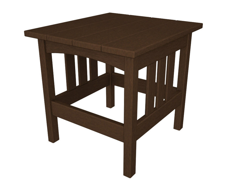 MS2224MA Mission 22in x 24in Side Table in Mahogany