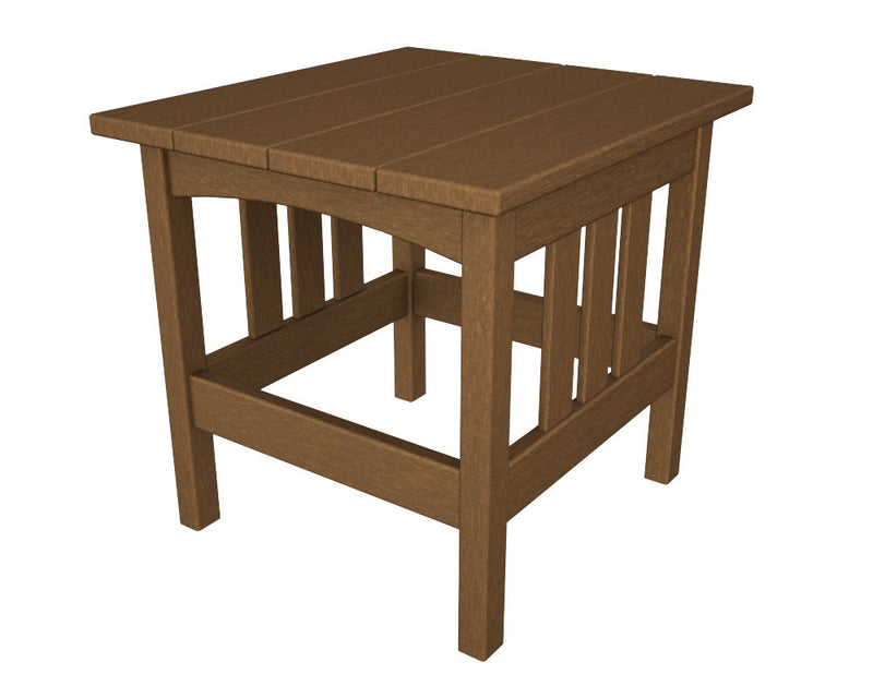 MS2224TE Mission 22in x 24in Side Table in Teak