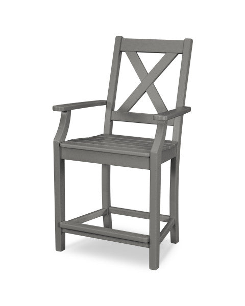 Braxton Counter Arm Chair - Classic Finish