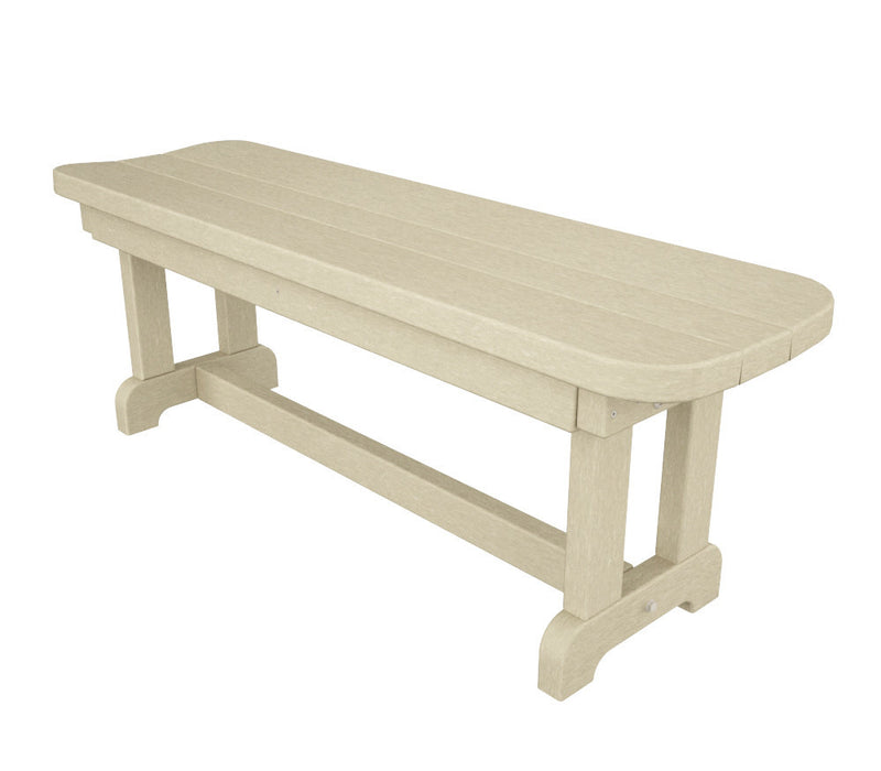 PBB48SA Park 48inch Backless Bench Sand