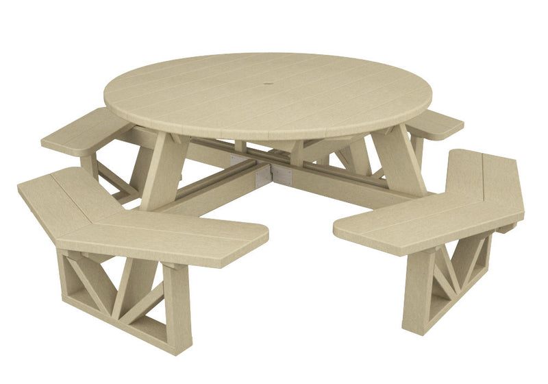 PH53SA Park 53inch Octagon Table in Sand