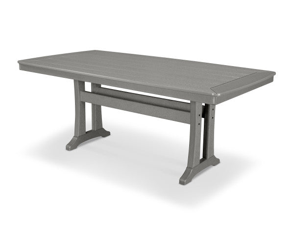 "Nautical Trestle 38"" x 73"" Dining Table"