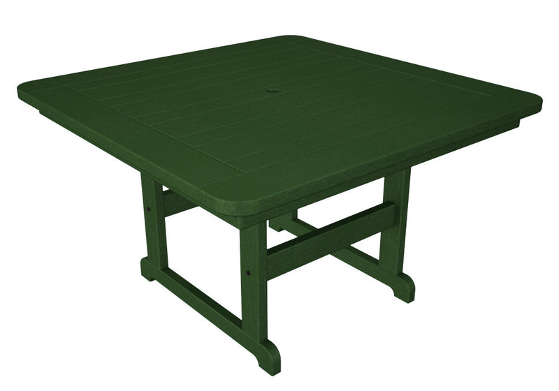 PST48GR Park 48inch Square Picnic Table in Green