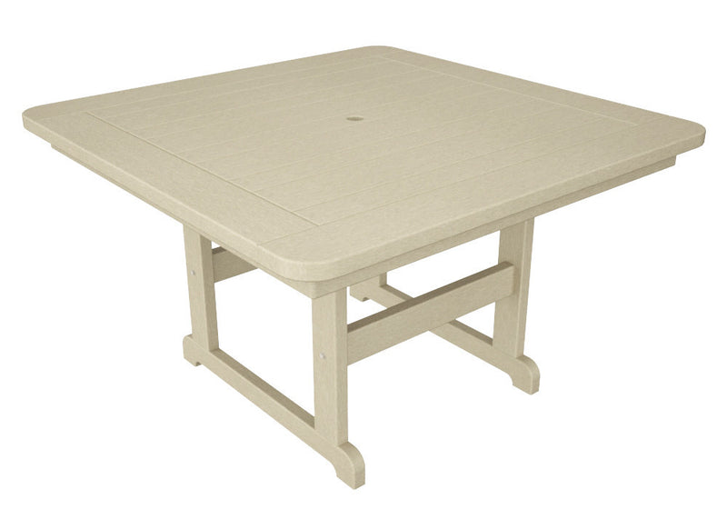 PST48SA Park 48inch Square Picnic Table in Sand