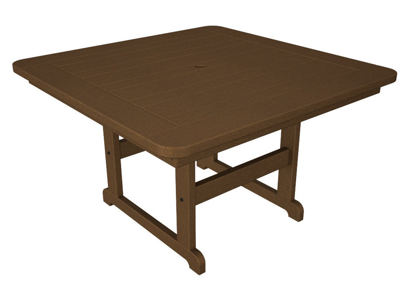 PST48TE Park 48inch Square Picnic Table in Teak