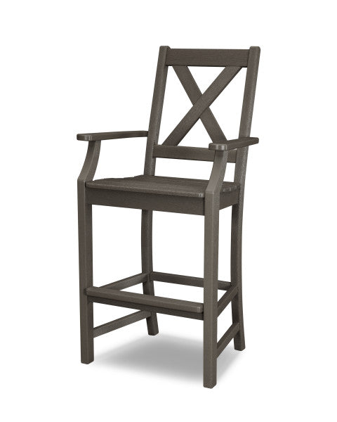 Braxton Bar Arm Chair - Vintage Finish