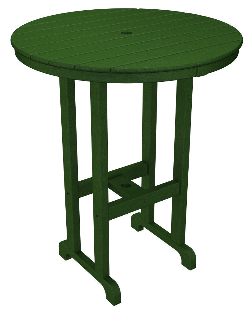 RBT236GR Round 36inch Bar Table in Green