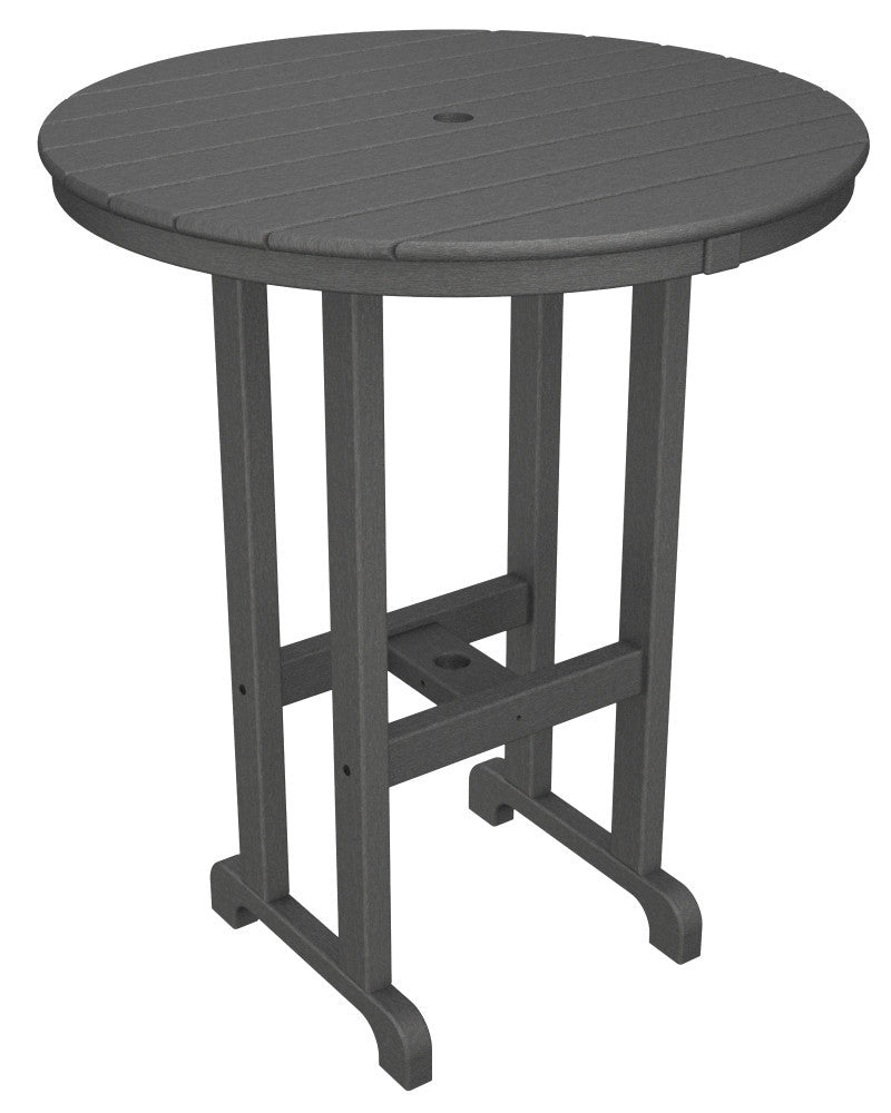 RBT236GY Round 36inch Bar Table in Slate Grey