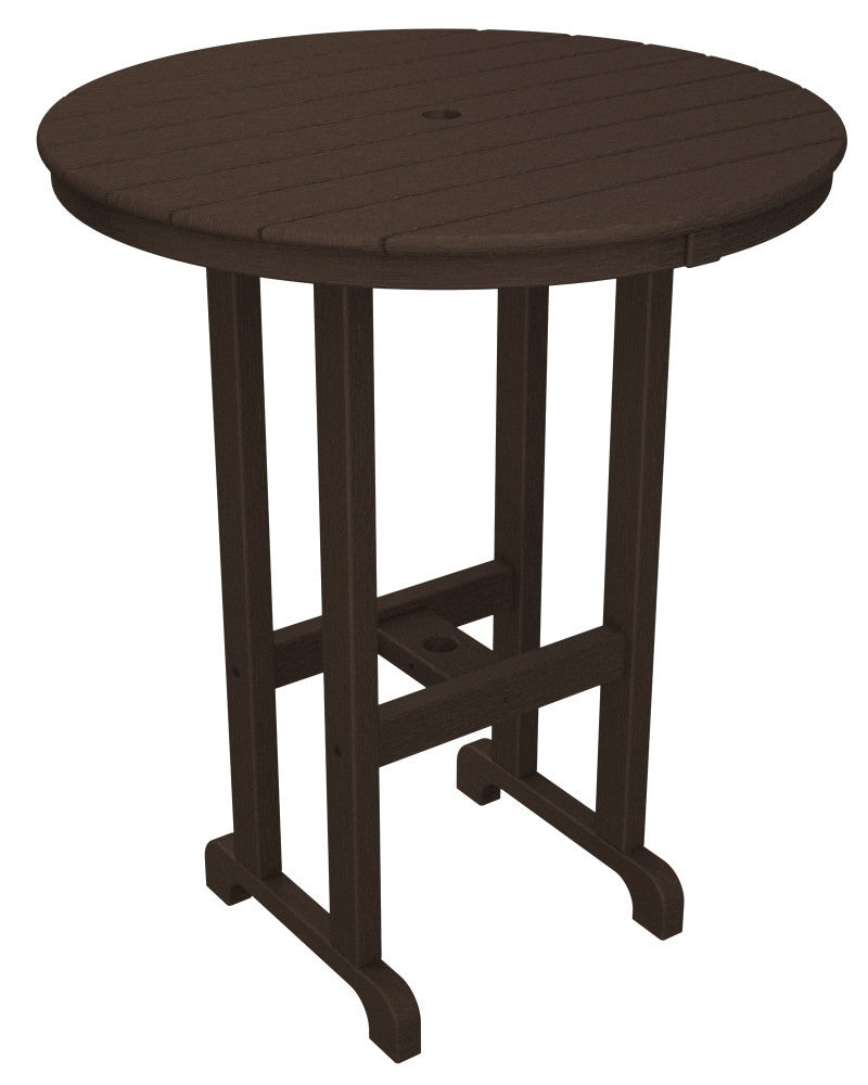 RBT236MA Round 36inch Bar Table in Mahogany
