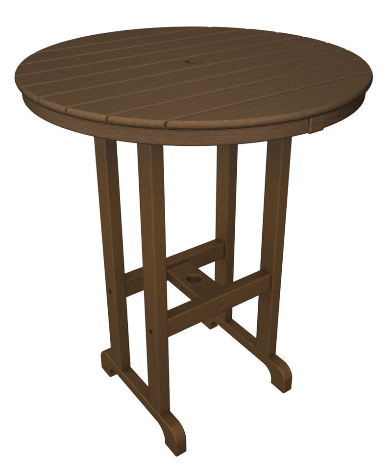 RBT236TE Round 36inch Bar Table in Teak