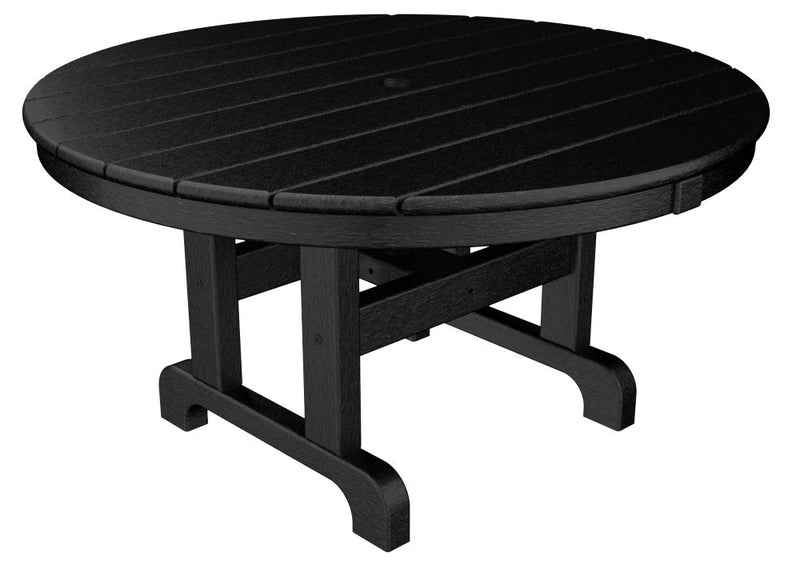 RCT236BL Round 36inch Conversation Table in Black