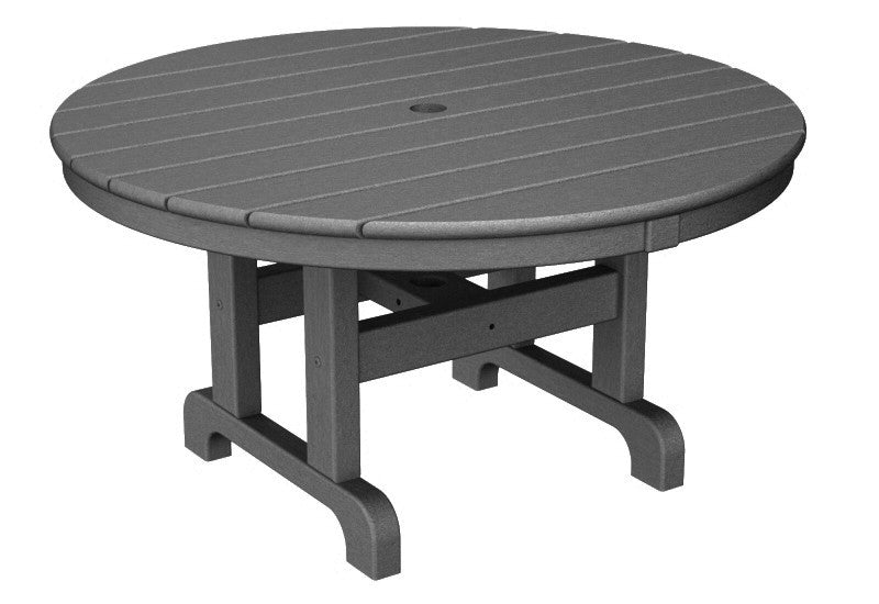 RCT236GY Round 36inch Conversation Table in Slate Grey
