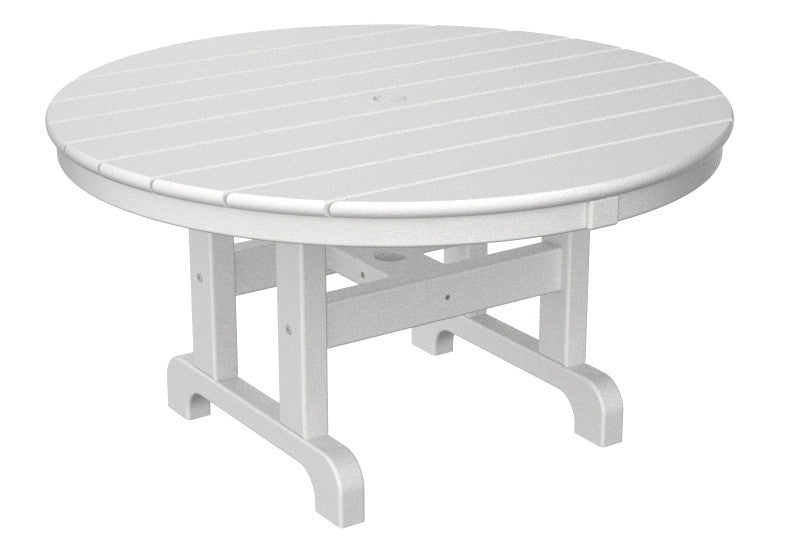 RCT236WH Round 36inch Conversation Table in White